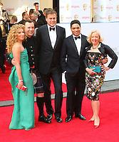 Kelly Hoppen; Duncan Bannatyne; Peter Jones; Piers Linney; Deborah Meaden, Arqiva British Academy Television Awards - BAFTA, Theatre Royal Drury Lane, London UK, 18 May 2014, Photo by Richard Goldschmidt