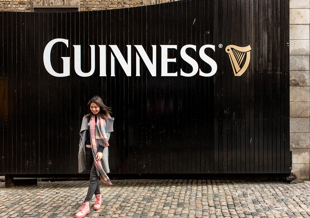 St. James area in Dublin, where Guinnes Brewery is, is the most visited place in Dublin.