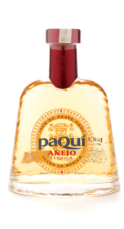 Paqui Tequila Añejo -- Image originally appeared in the Tequila Matchmaker: http://tequilamatchmaker.com