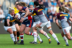 Sarah Bern of Bristol Ladies - Rogan Thomson/JMP - 23/04/2017 - RUGBY UNION - Sixways Stadium - Worcester, England - Bristol Ladies Rugby v Aylesford Bulls - Women's Premiership Final.