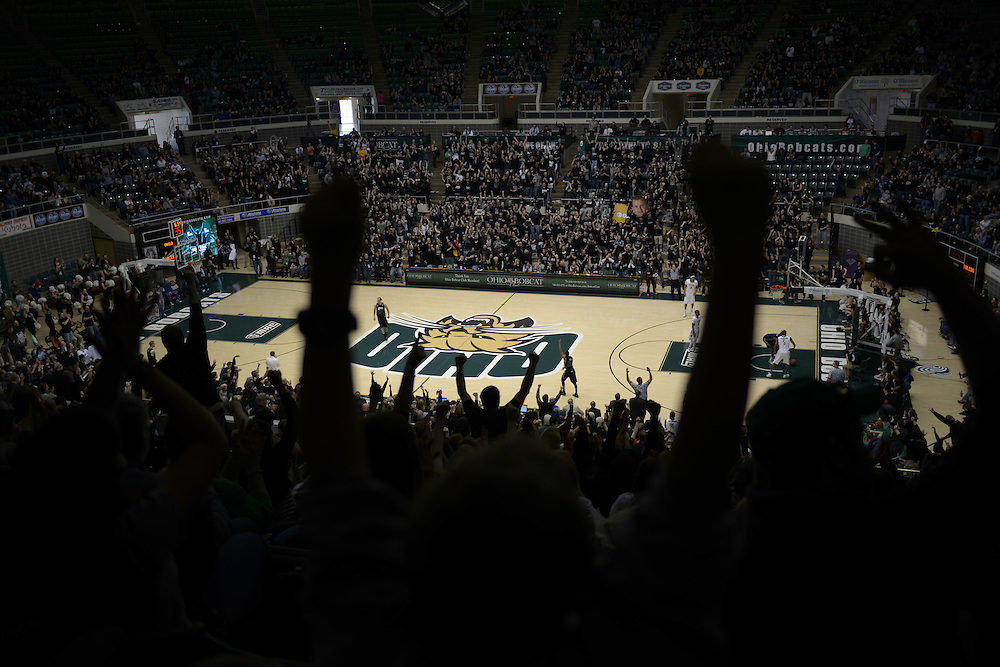 The Convocation Center. © Ohio University / Photo by Ben Siegel