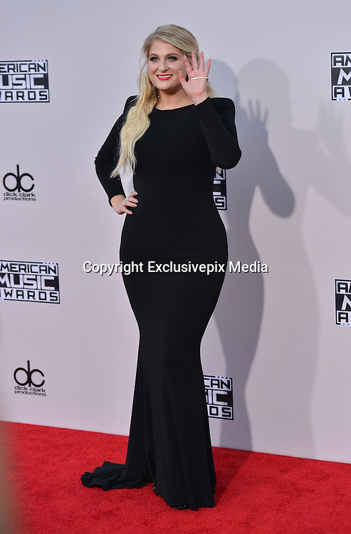 MEGHAN TRAINOR @ the 2015 American Music Awards held @ the Micorsoft theatre.<br /> &copy;Exclusivepix Media
