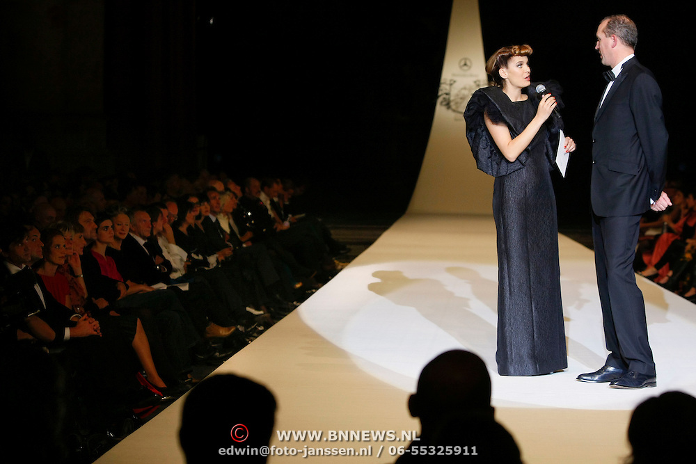NLD/Den Haag/20091106 - Uitreiking Mercedes-Benz Dutch Fashion Awards 2009, Hanna Verboom en Martin Hegeman