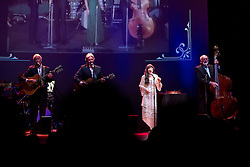 © Licensed to London News Pictures . 29/05/2014 . Manchester , UK . The Seekers perform at the Bridgewater Hall this evening (Thursday 29th May 2014) . The Australian folk-pop quartet are celebrating their 50th Anniversary together . Photo credit : Joel Goodman/LNP
