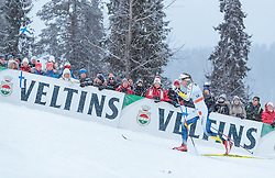 26.11.2016, Nordic Arena, Ruka, FIN, FIS Weltcup Langlauf, Nordic Opening, Kuusamo, Damen, im Bild Stina Nilsson (SWE) // Stina Nilsson of Sweden during the Ladies FIS Cross Country World Cup of the Nordic Opening at the Nordic Arena in Ruka, Finland on 2016/11/26. EXPA Pictures © 2016, PhotoCredit: EXPA/ JFK