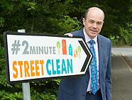 #2minute street clean