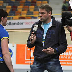 Jeroen Koster (NOS Studio Sport) in gesprek met Willy Kanis