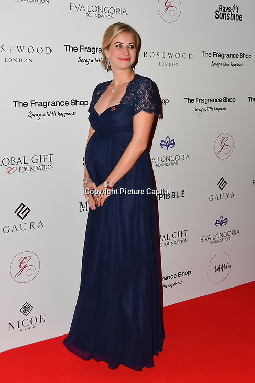 Holly Branson Arrivers at The Global Gift Gala red carpet - Eva Longoria hosts annual fundraiser in aid of Rays Of Sunshine, Eva Longoria Foundation and Global Gift Foundation on 2 November 2018 at The Rosewood Hotel, London, UK. Credit: Picture Capital