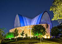 Igreja Matriz São Miguel Arcanjo. São Miguel do Oeste, Santa Catarina, Brasil. / <br /> São Miguel Arcanjo Mother Church. São Miguel do Oeste, Santa Catarina, Brazil.