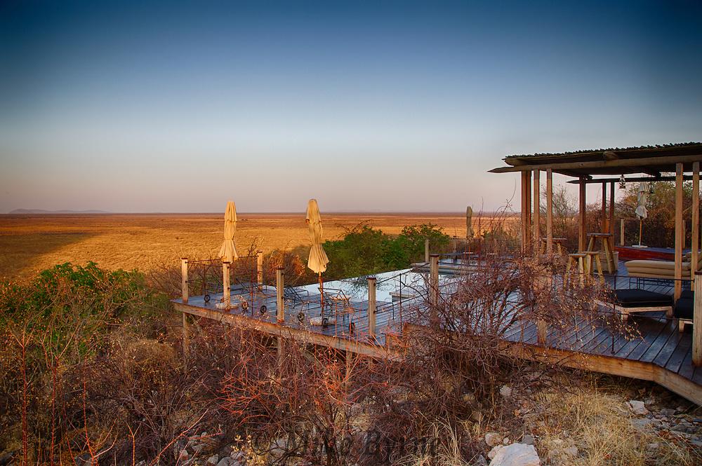 Dolomite Camp at Etosha National Park, Namibia.