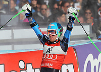 ALPINE SKIING - WORLD CUP 2011/2012 - SOELDEN (AUT) - 23/10/2011 - PHOTO : GIOVANNI AULETTA / PENTAPHOTO / DPPI - MEN GIANT SLALOM - Ted Ligety (USA) / WINNER