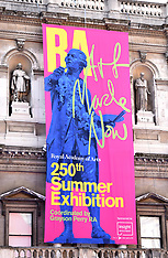 6 JUNE 2018 The Royal Academy Of Arts Summer Exhibition Party