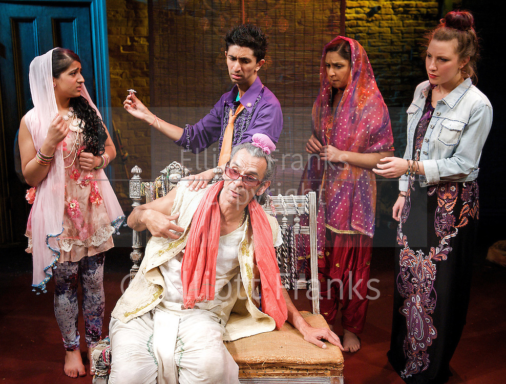 Kanjoos The Miser adapted by Hardeep Singh Kohli <br />