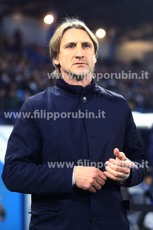"Foto /Filippo Rubin<br /> 26/12/2018 Ferrara (Italia)<br /> Sport Calcio<br /> Spal - Udinese - Campionato di calcio Serie A 2018/2019 - Stadio ""Paolo Mazza""<br /> Nella foto: DAVIDE NICOLA (ALLENATORE UDINESE)<br /> <br /> Photo /Filippo Rubin<br /> December 26, 2018 Ferrara (Italy)<br /> Sport Soccer<br /> Spal vs Udinese - Italian Football Championship League A 2018/2019 - ""Paolo Mazza"" Stadium <br /> In the pic: DAVIDE NICOLA (UDINESE'S TRAINER)"