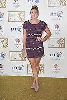 LONDON - NOVEMBER 30: Rebecca Adlington attended the British Olympic Ball at the Grosvenor House Hotel, London, UK. November 30, 2012. (Photo by Richard Goldschmidt)