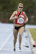 Seibel, Lauren competing in the 4x400m relay at the 2007 OTFA Junior-Senior Championships in Ottawa.