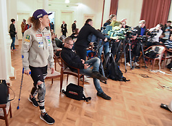 Ilka Stuhec during press conference after the end of Alpine Ski season 2018/19, on March 25, 2019, in Narodni dom, Maribor, Slovenia. Photo by Milos Vujinovic / Sportida