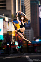Dance As Art The New York City Photography Project Times Square 42nd Street Series with Abby DeReamer
