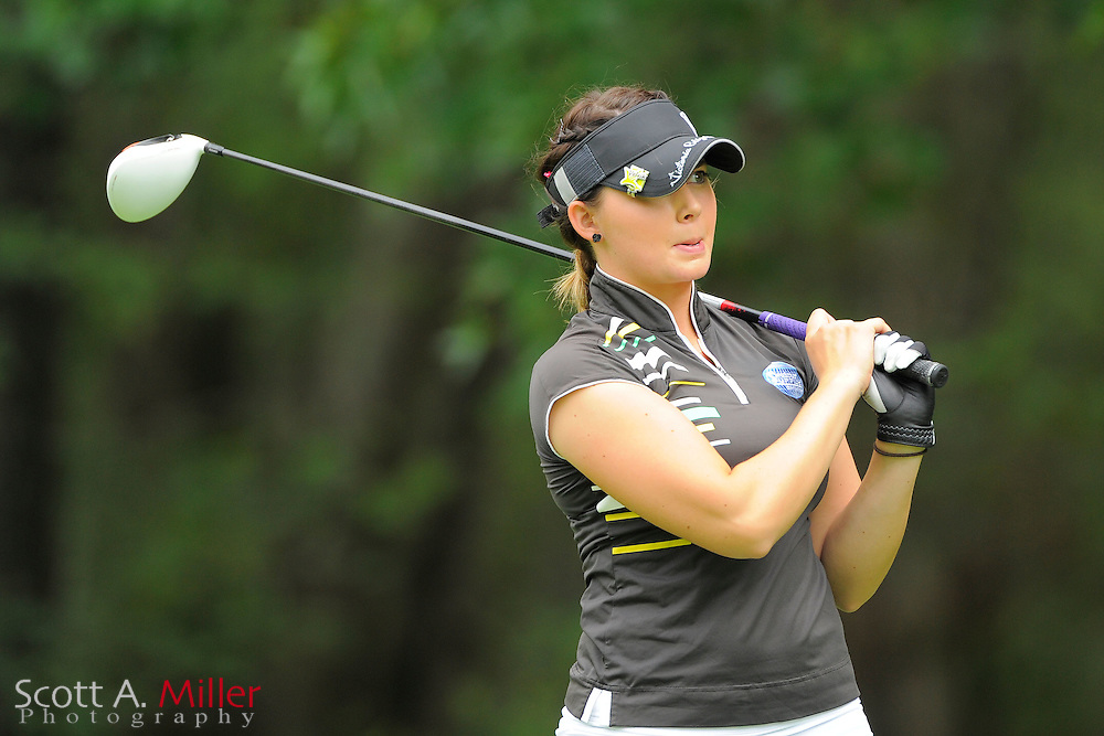 Victoria Elizabeth during the Symetra Tour's Eagle Classic at the Richmond Country Club on August 18, 2012 in Richmond, Va...©2012 Scott A. Miller