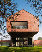 Living-Garden House in Katowice, Poland by KWK PROMES Robert Konieczny