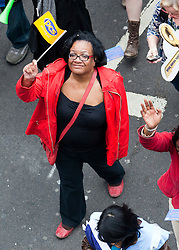 © under license to London News Pictures. 26/03/2011.  Dianne Abbot. Hundreds of thousands of people take to the streets of London to protest against the Coalition Government cuts. Organised by the TUC the 'March for the Alternative' is the largest in London since the anti Iraq war protests. Photo credit should read BETTINA STRENSKE/LNP