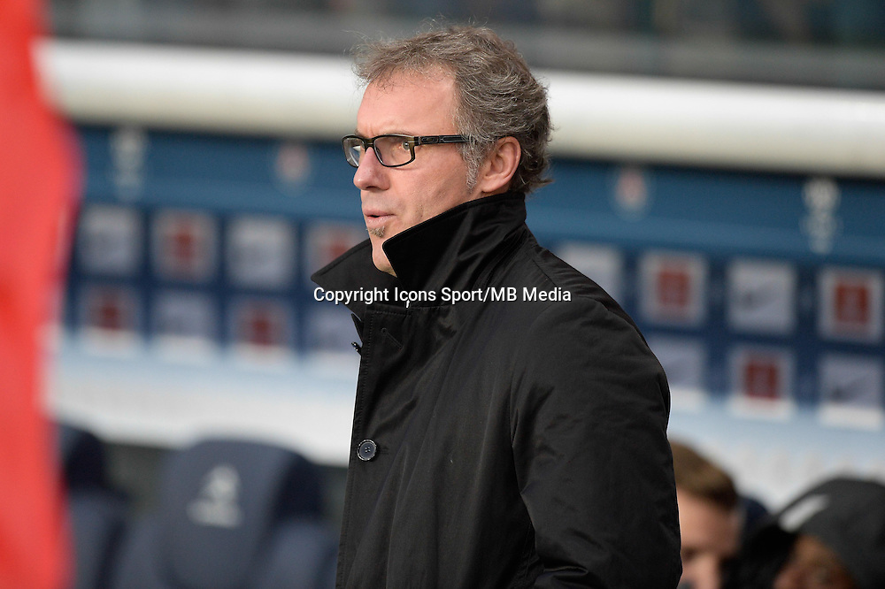 Laurent BLANC - 20.12.2014 - Paris Saint Germain / Montpellier - 17eme journee de Ligue 1 -<br />