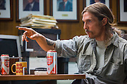 "Matthew McConaughey as Rust Cohle in HBO's ""True Detective"" Season 1."