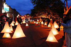 Lantern parade 'Meander' created by Artsquad for the Westport Arts festival 2009...Pic Conor McKeown.