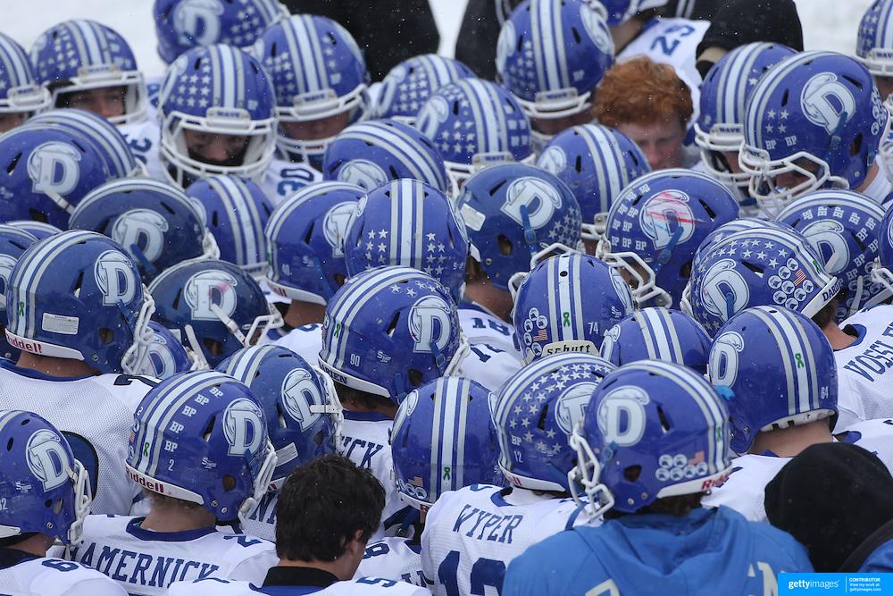 New Canaan Rams Vs Darien Blue Wave Ciac Football Championship