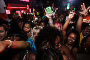 Fans go crazy at at Plies concert at Level Night Club in Fort Myers on Easter Sunday.