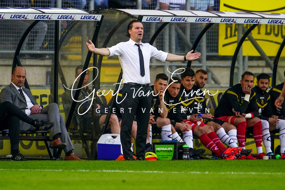*Coach Stijn Vreven* of NAC Breda