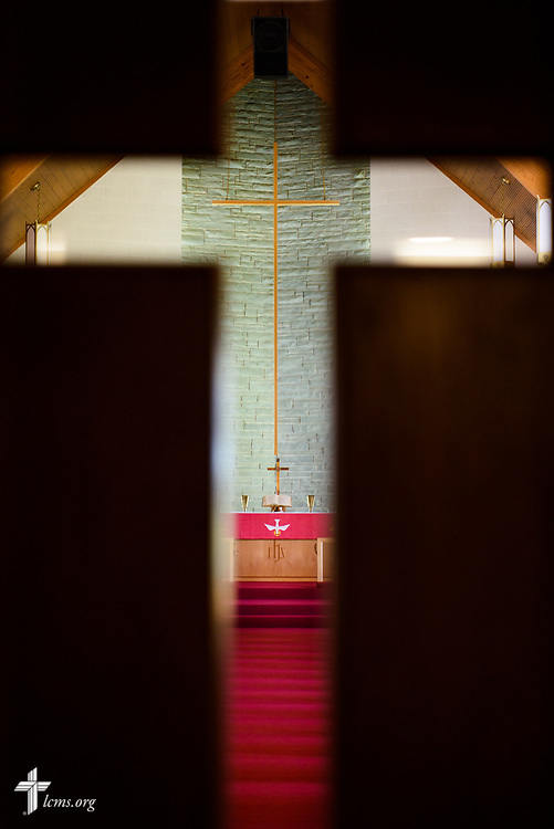 The altar of Lutheran Church of St. John, Quincy, Ill., on Sunday, June 11, 2017. LCMS Communications/Erik M. Lunsford