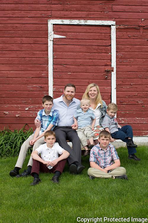 McElderry Family :: Marshfield, Wisconsin Family Photography