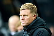 AFC Bournemouth manager Eddie Howe during the Premier League match between Newcastle United and Bournemouth at St. James's Park, Newcastle, England on 9 November 2019.