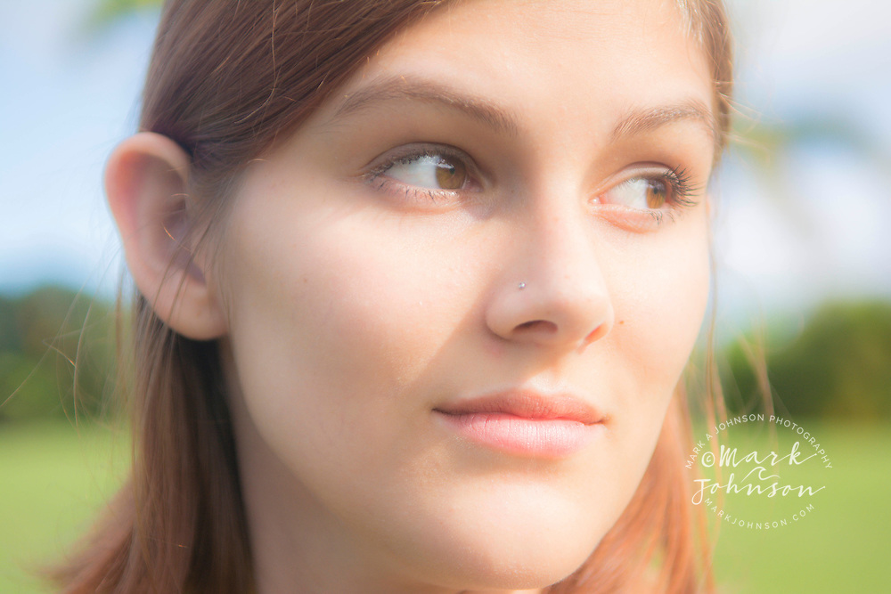 Portrait of a young woman people ****Model Release available