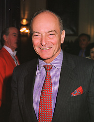 SIR PETER PETRIE advisor on European and Parliamentary affairs to the Governor of the Bank of England, at a reception in London on 3rd March 1999.MOZ 40
