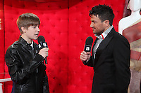 justin bieber and Peter Andre