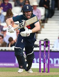 June 13, 2018 - London, England, United Kingdom - England's Eoin Morgan .during One Day International Series match between England and Australia at Kia Oval Ground, London, England on 13 June 2018. (Credit Image: © Kieran Galvin/NurPhoto via ZUMA Press)