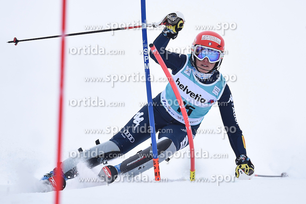 13.03.2016, Pista Silvano Beltrametti, Lenzerheide, SUI, FIS Weltcup Ski Alpin, Lenzerheide, Superkombination, Slalom, Damen, im Bild Federica Brignone (ITA) // during ladie's Supercombi, Slalom Race of Lenzerheide FIS Ski Alpine World Cup at the Pista Silvano Beltrametti in Lenzerheide, Switzerland on 2016/03/13. EXPA Pictures &copy; 2016, PhotoCredit: EXPA/ Freshfocus/ Manuel Lopez<br /> <br /> *****ATTENTION - for AUT, SLO, CRO, SRB, BIH, MAZ only*****