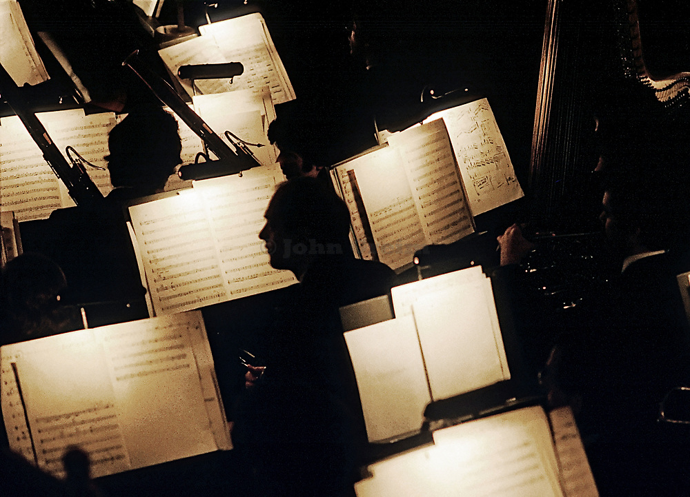 Orchestra pit.