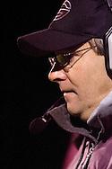 Genoa, Ohio High School football coach Mike Vicars. Genoa Football vs Lake Oct. 17, 2008