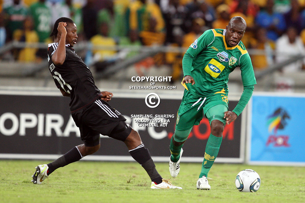 DURBAN, SOUTH AFRICA - NOVEMBER 26,  during the Telkom Knockout Semi Final match between Golden Arrows and Orlando Pirates from Moses Mabhida Stadium on November 26, 2011 in Durban, South Africa<br /> Photo by Credit Steve Haag