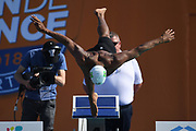 Joao Luiz Gomes Junior (BRA) competes on Men's 100 m Breaststroke during the French Open 2018, at Aquatic Center Odyssée in Chartres, France on July 7th to 8th, 2018 - Photo Stephane Kempinaire / KMSP / ProSportsImages / DPPI