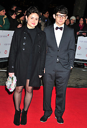 © Licensed to London News Pictures. 19/01/2012. London, England. Yasmin Paige and Craig Roberts attends The Critics Choice Movie Awards 2012 at the BFI on the southbank in London  Photo credit : ALAN ROXBOROUGH/LNP