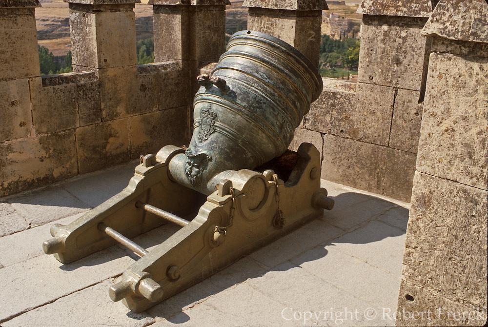 SPAIN, CASTILE, SEGOVIA Alcazar Castle; 15-16thc. canons
