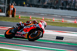 September 7, 2018 - 93 MARC MARQUEZ from Spain, HRC Repsol Honda Team, Honda RC213V, Gran Premio Octo di San Marino e della Riviera di Rimini, during the Friday FP1 at the Marco Simoncelli World Circuit for the 13th round of MotoGP World Championship, from September 7th to 9th, 2018. (Credit Image: © AFP7 via ZUMA Wire)
