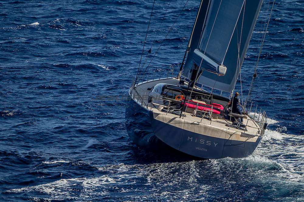 S/Y MISSY, 108 foot,designed by Malcolm McKeon, built in Vitters and Green Marine