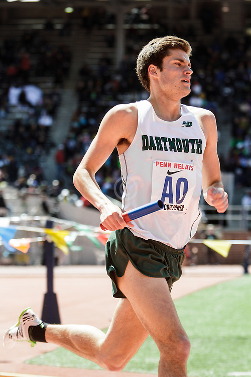 Penn Relayscollege men 4 x Mile relay,