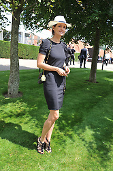 SAFFRON ALDRIDGE at the 3rd day of the 2011 Glorious Goodwood Racing Festival - Ladies Day at Goodwood Racecourse, West Sussex on 28th July 2011.