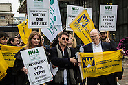 14 May 2015 ITV staff strike in National pay dispute
